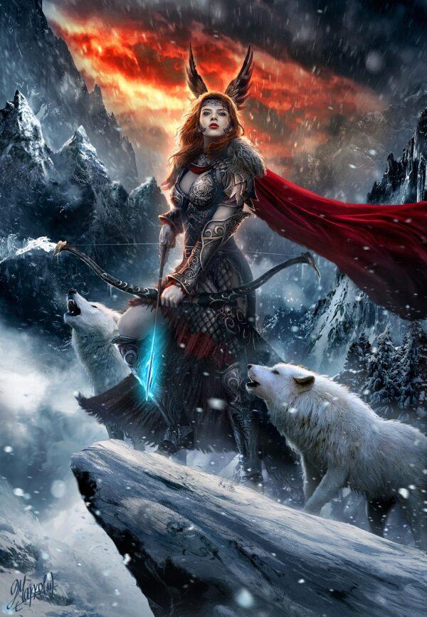 Thrud la hija de thor